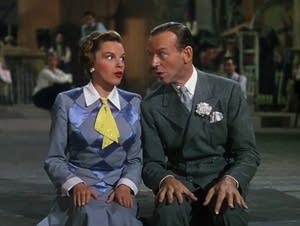 Judy Garland and Fred Astaire in 'Easter Parade'