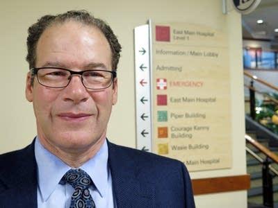 Abbott Northwestern Hospital president Ben Bache-Wiig