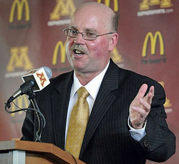 New Gopher coach Jerry Kill