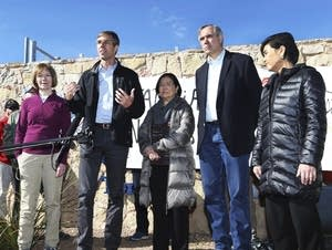 Beto O'Rourke, Tina Smith, Mazie Hirono, Jeff Merkley and Judy Chu
