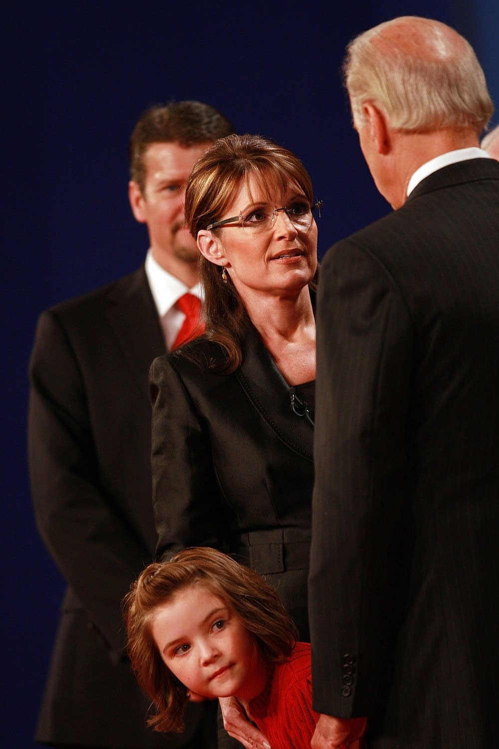 Biden And Palin after the debate
