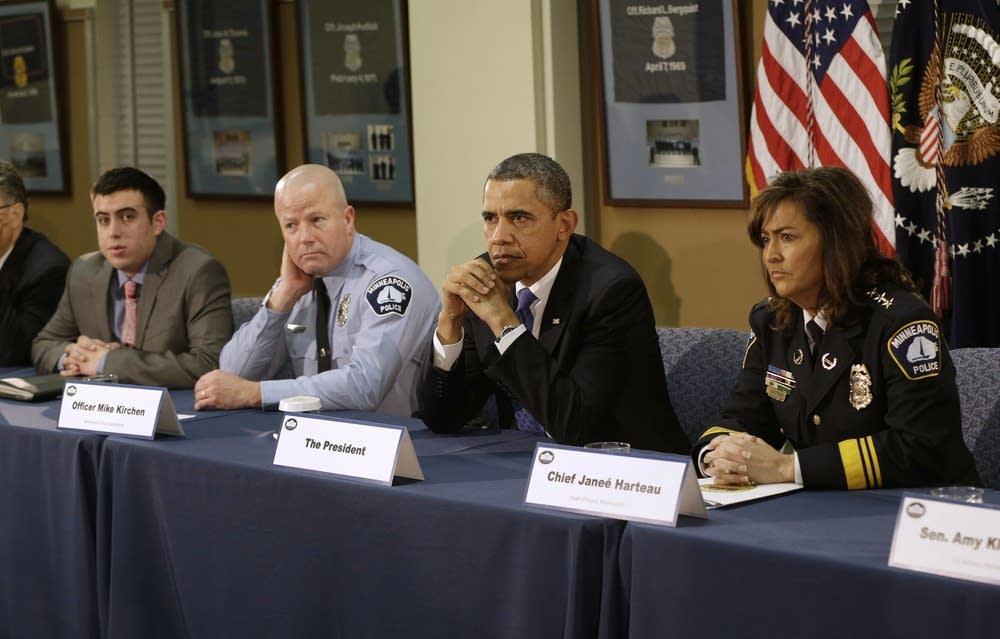Advocates with Obama