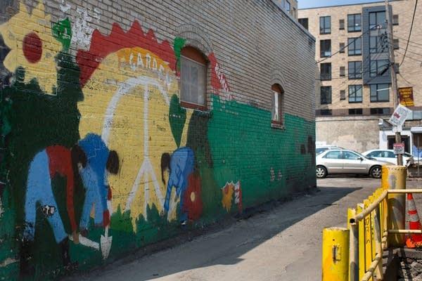 Dinkytown mural