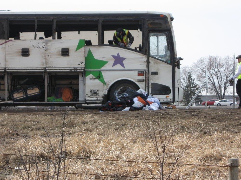 Minn  bus driver accepts plea deal in fatal crash | MPR News