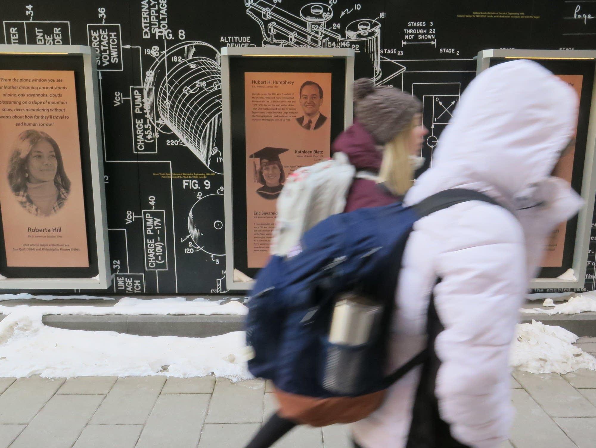 University of Minnesota's Scholars Walk