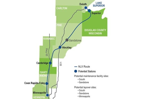 Proposed rail project