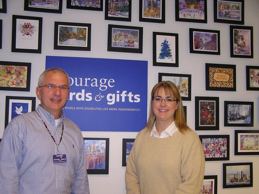 Card program organizers
