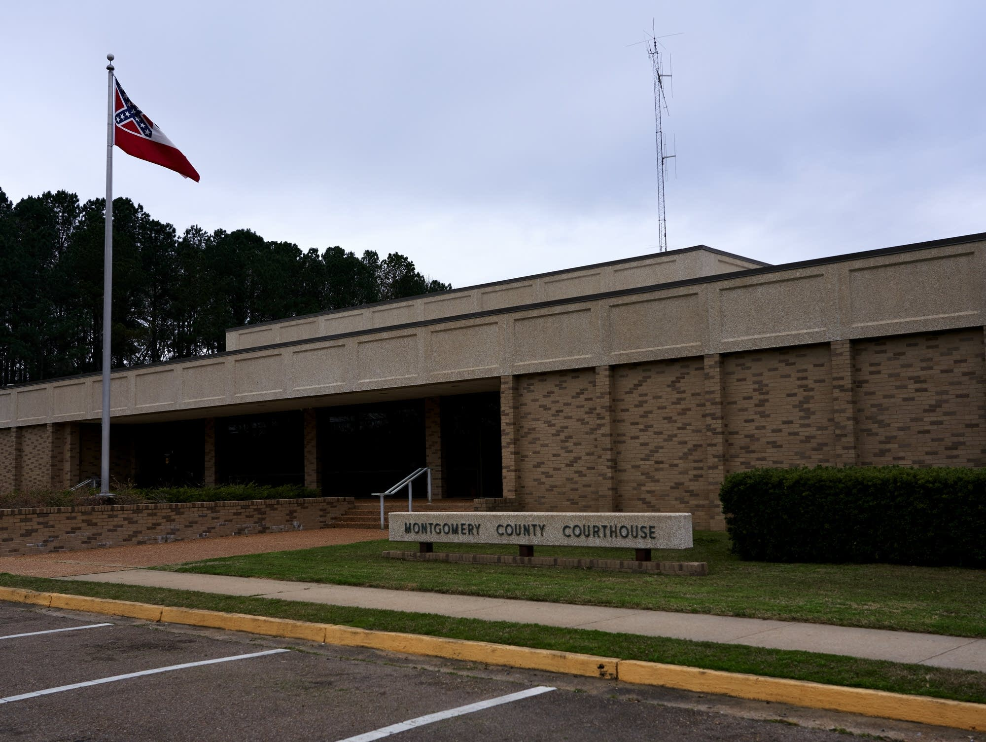 Montgomery County Courthouse in Winona, Mississippi.