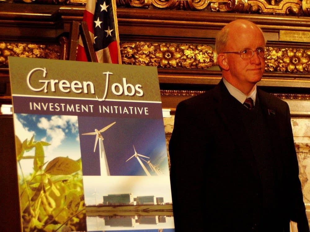 Dan McElroy, Minnesota's DEED commissioner