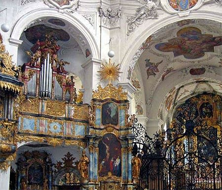 1655-60 Schnyder and the 1697 von Zubin organs at the Cloister Church of...