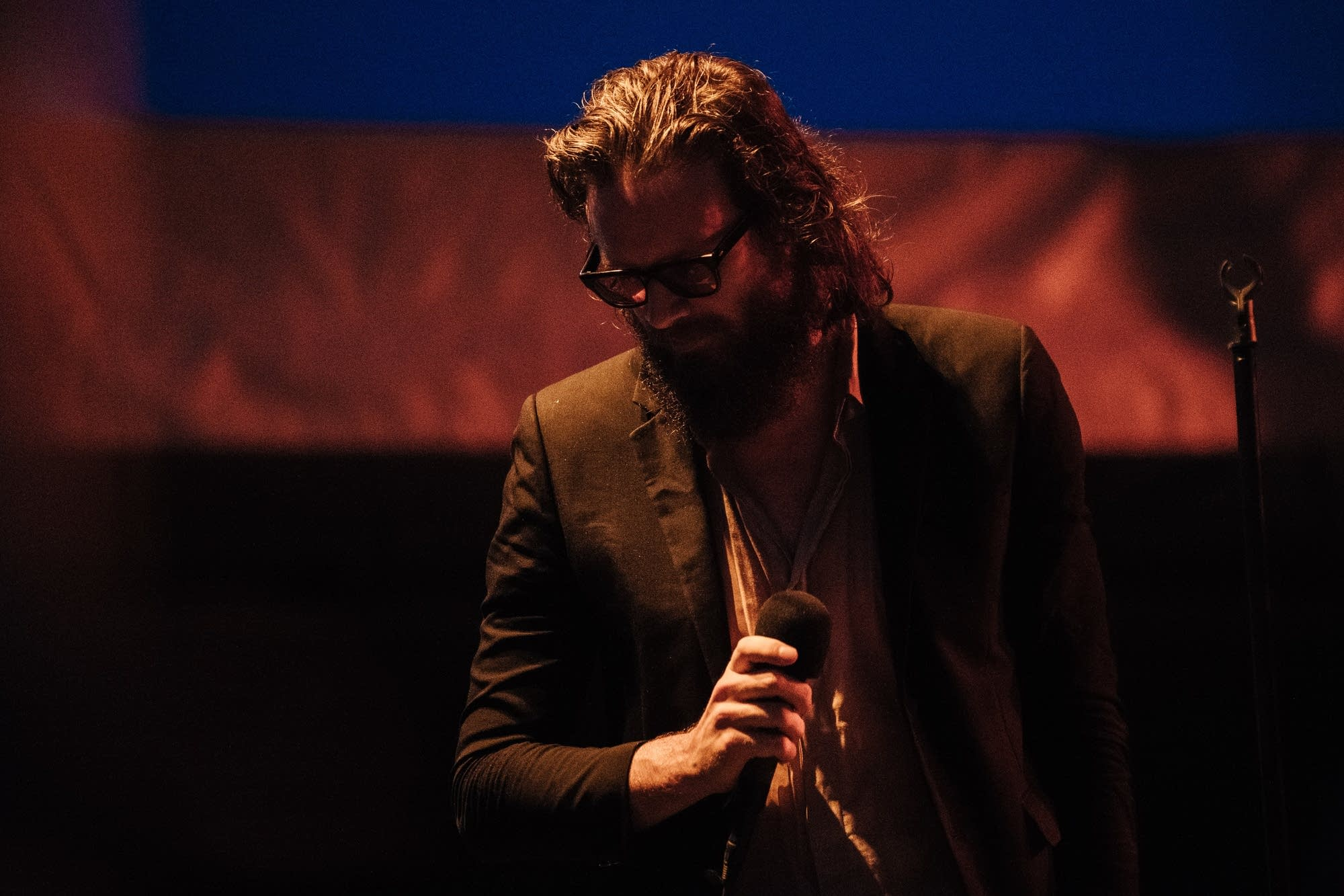 Father John Misty at Rock the Garden 2018.