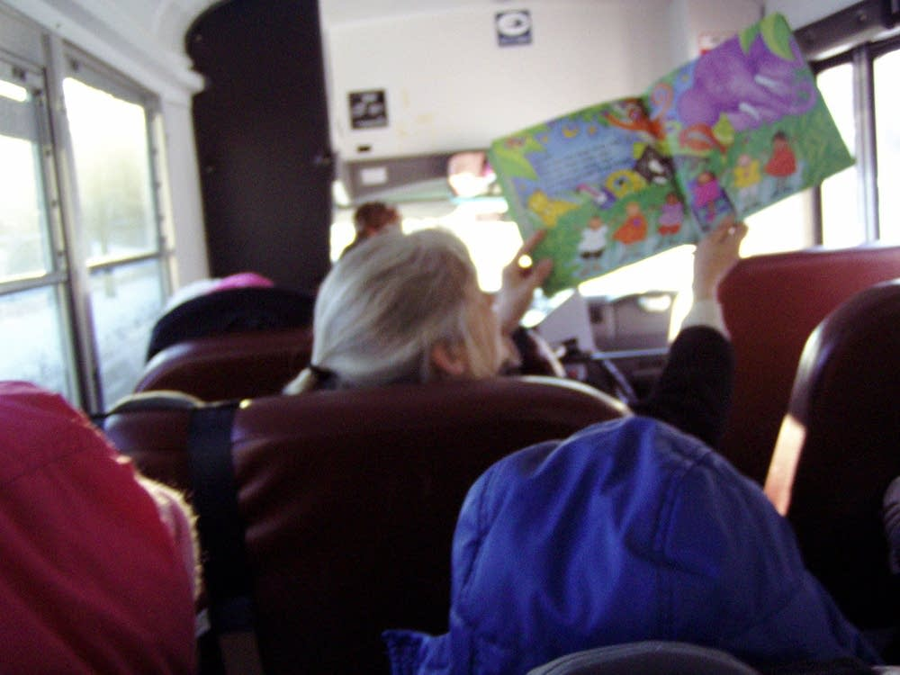 Teaching on the bus