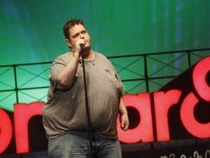 Ralphie May performing at Bonnaroo