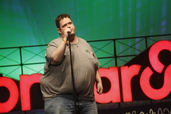 Ralphie May performing at Bonnaroo