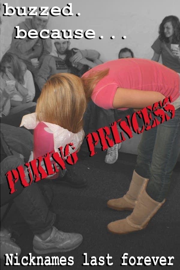 Puking Princess