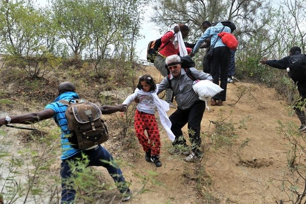 Crossing into Macedonia