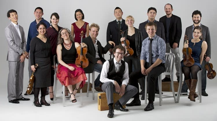 Members of the Boston-based string ensemble, A Far Cry.