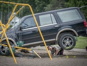 Minnesota State Patrol investigates the scene.