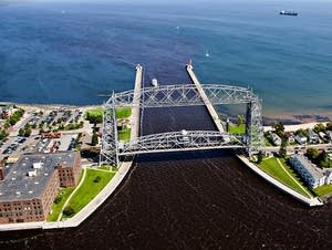Canal Park and the aerial lift bridge in 2010.