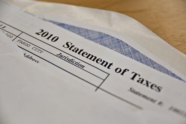 ND property tax statement