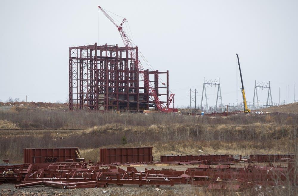 Essar Steel construction