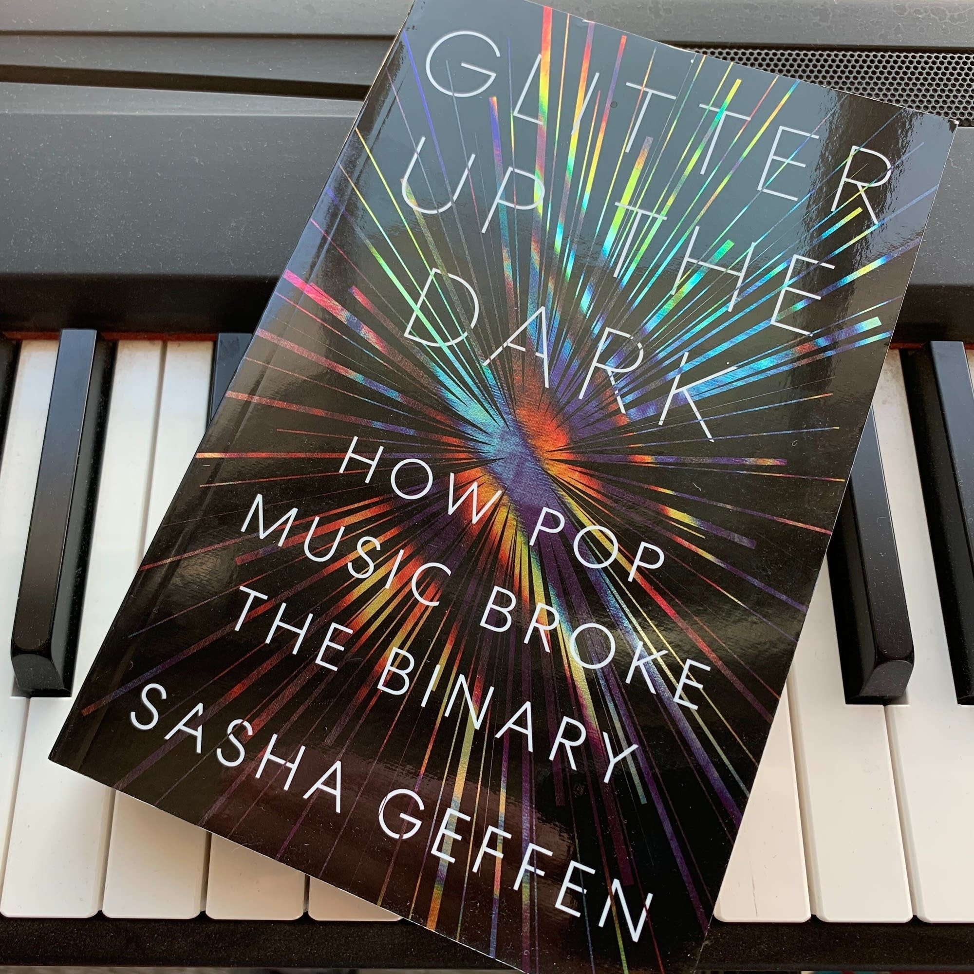 Sasha Geffen's 'Glitter Up the Dark.'