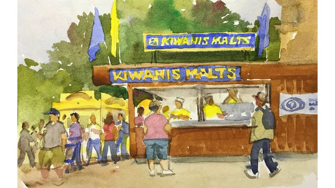 The Kiwanis Malts stand at the State Fair