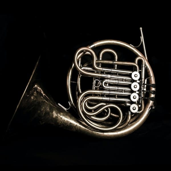the French horn is a member of the brass family.