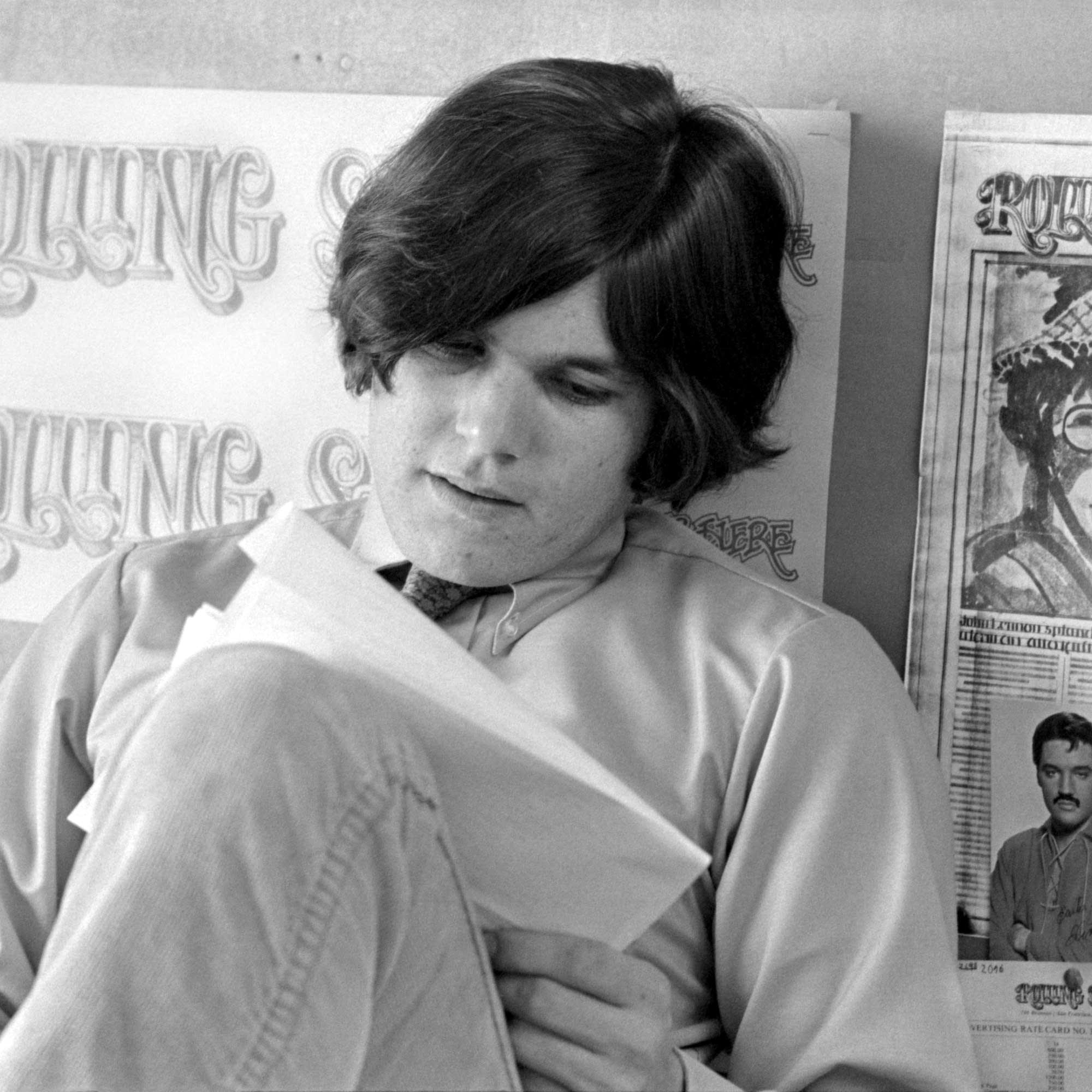 Rolling Stone magazine founder Jann Wenner