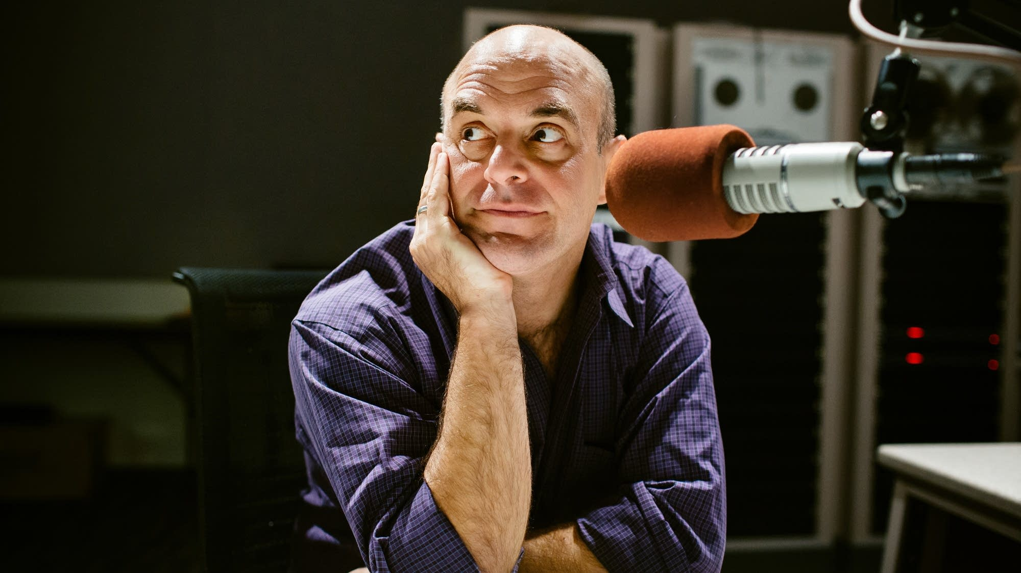 Peter Sagal portrait. Photo by Andrew Collings.