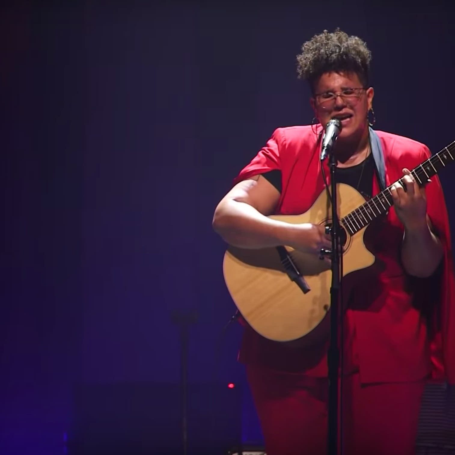 Brittany Howard performing at the Palace Theatre