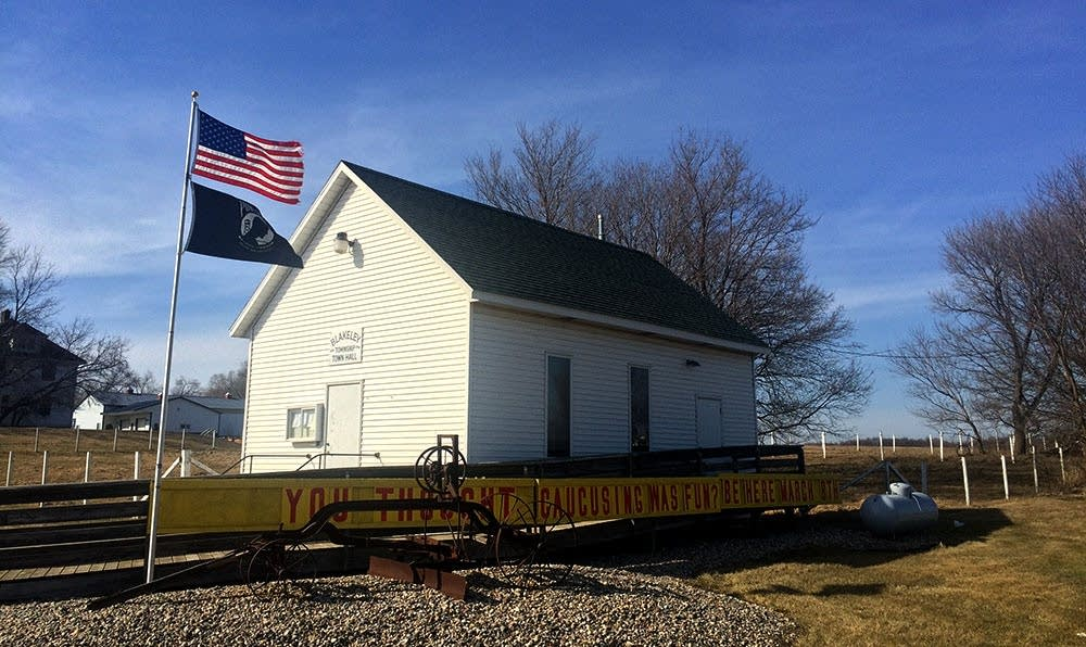 Township hall in Blakeley, Minn.