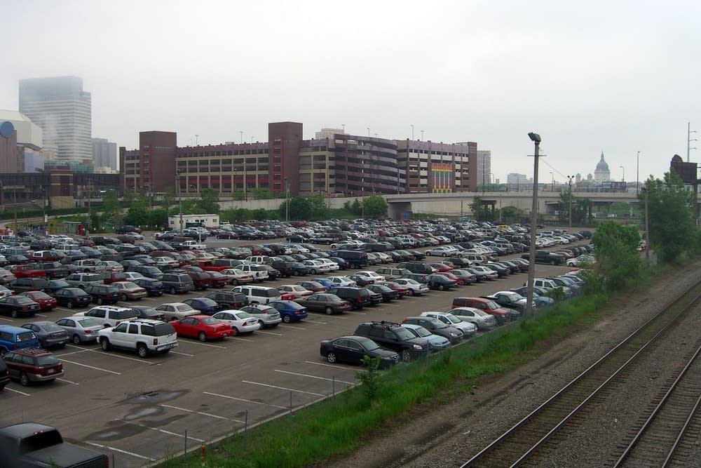 Ballpark site