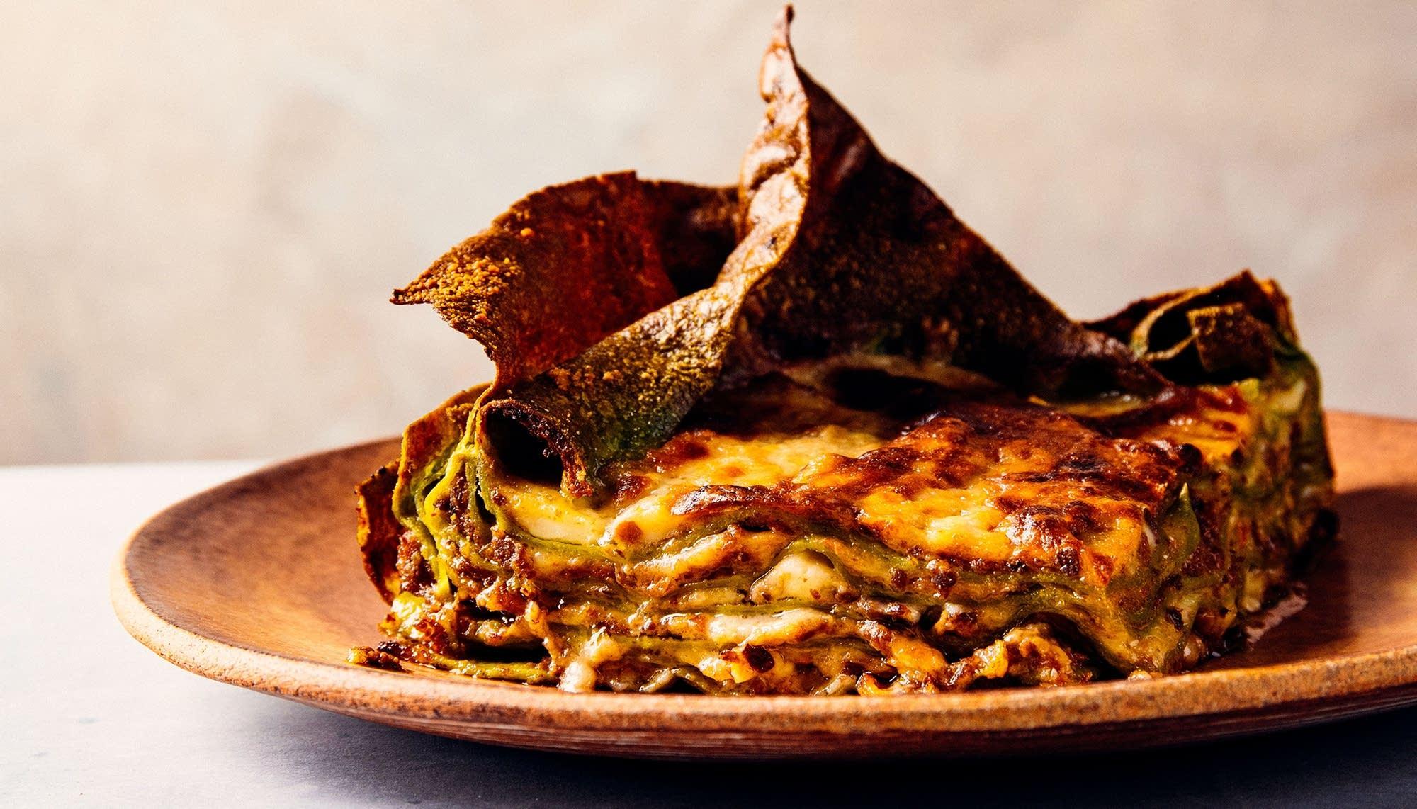 Ricetta Lasagne Verdi Alla Bolognese.Lasagna Verde Alla Bolognese The Splendid Table