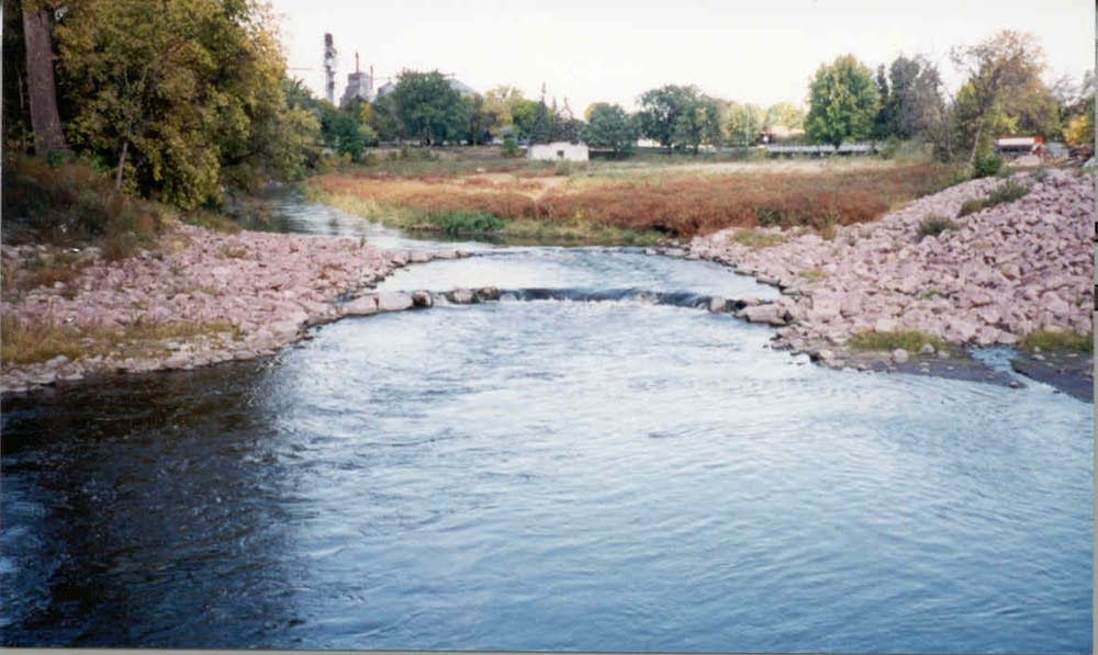 After dam was removed