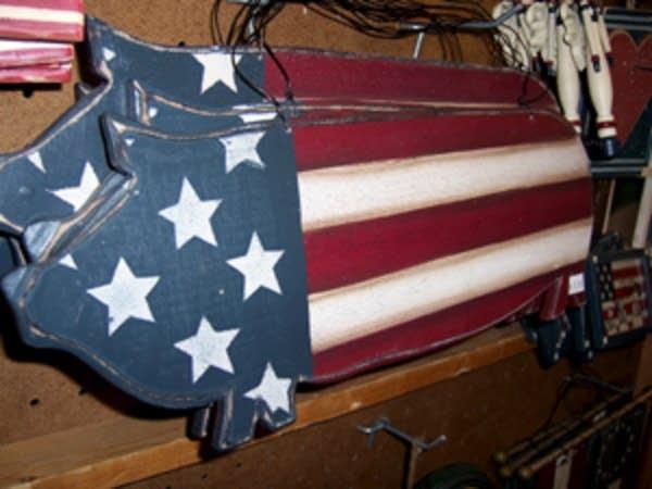 Patriotic pork