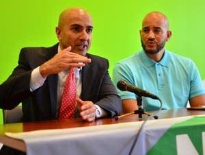 Neel Kashkari and Anthony Newby