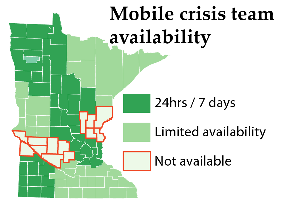 Mobile crisis team availability