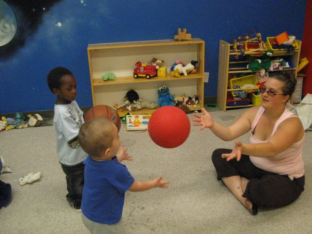Playtime at Families Moving Forward