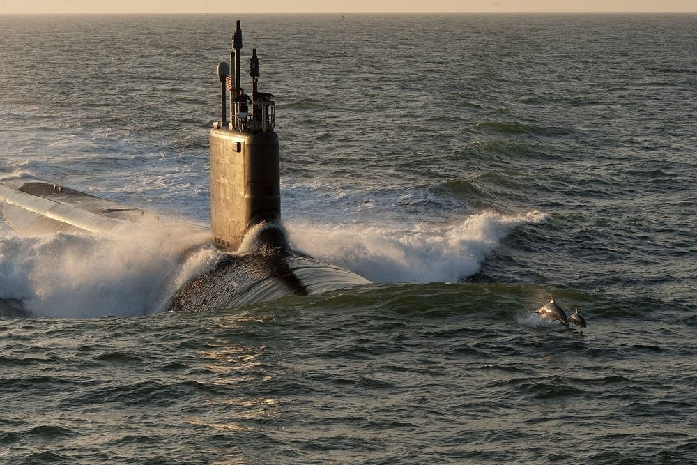 The USS Minnesota