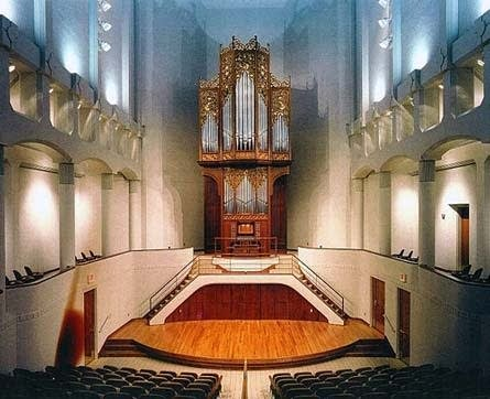 1996 Helmut Wolff organ in the Bales Recital Hall, University of Kansas, Lawrence, KS