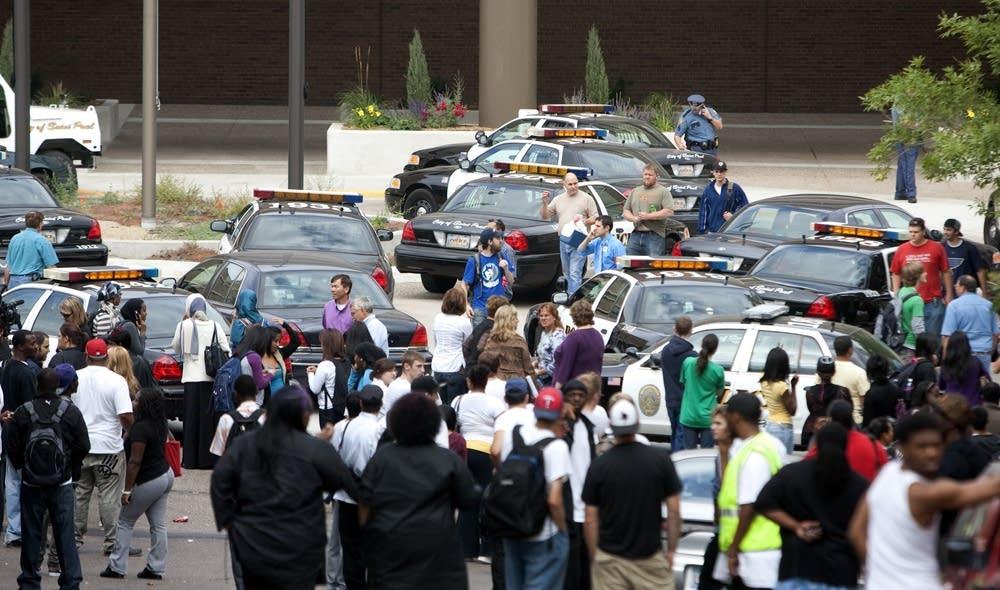 College evacuated