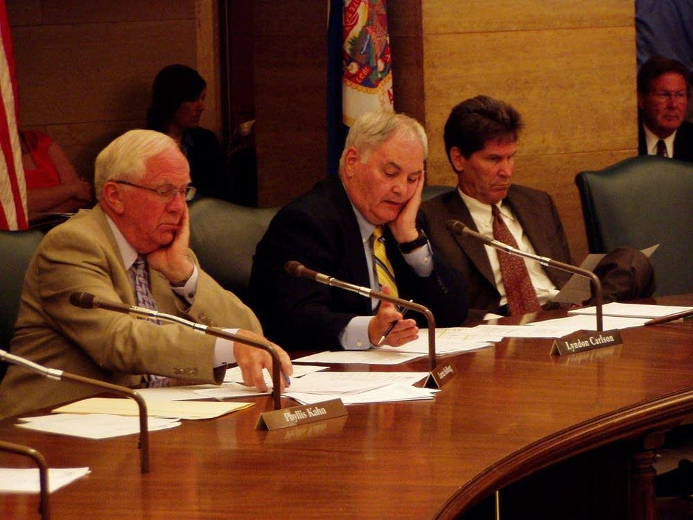 Solberg, Carlson, Pogemiller