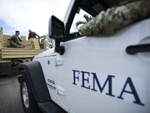 The Federal Emergency Management Agency supply delivery