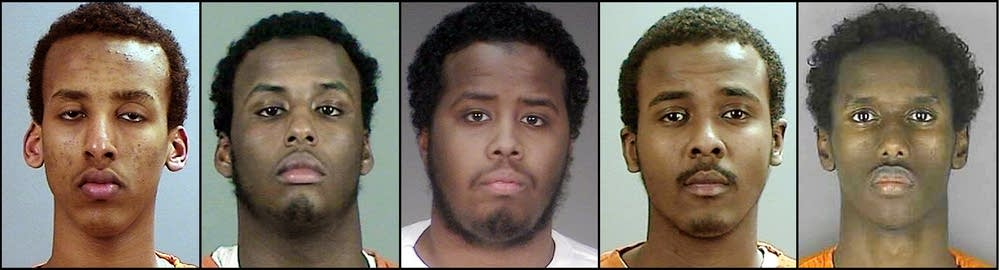 Five young men accused of trying to join ISIS