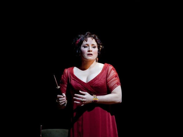 Patricia Racette as Tosca