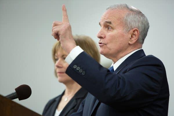 Governor Dayton says he will veto education bill