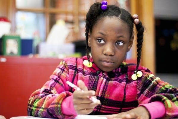 Student Danaya Harvey