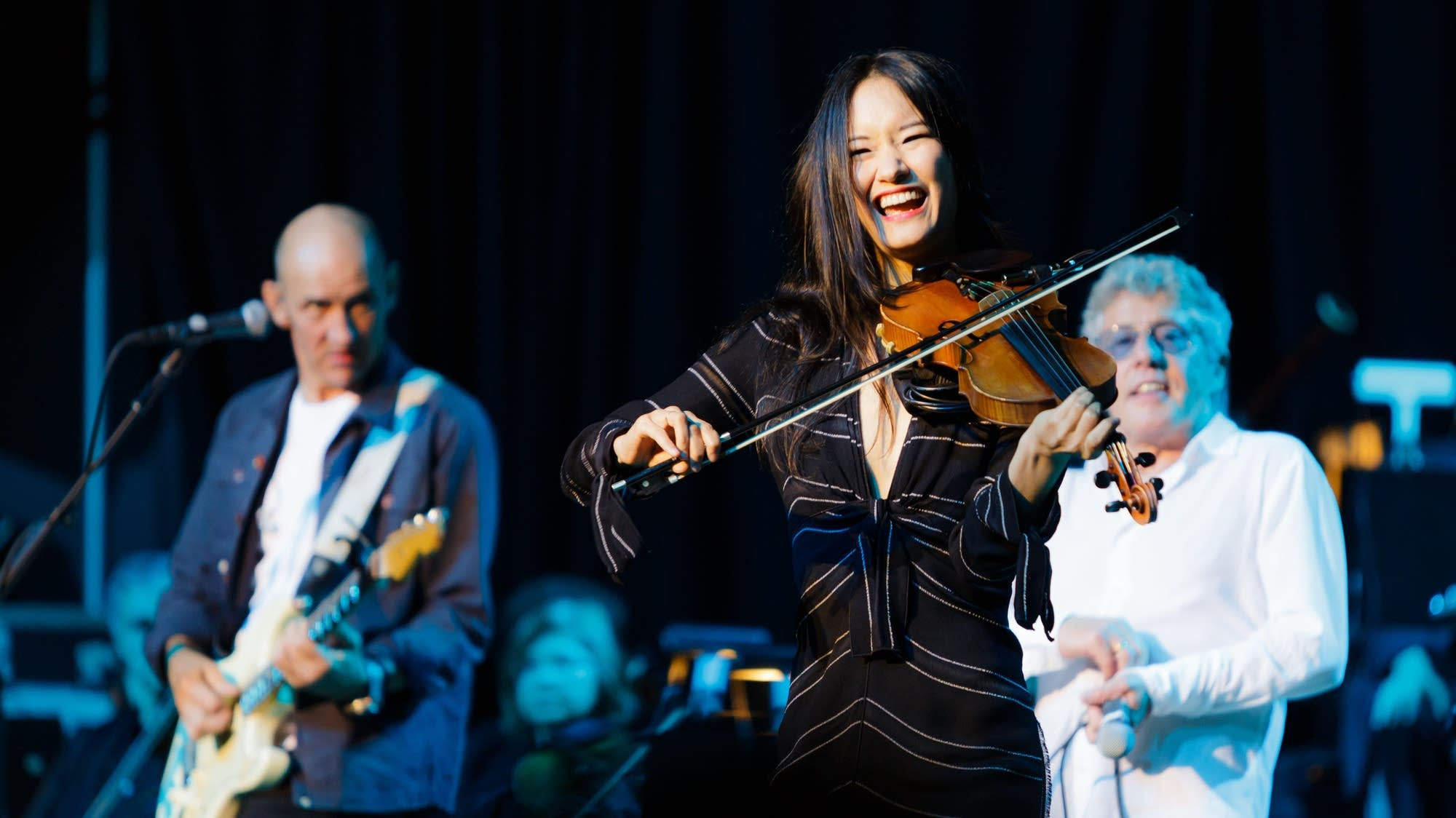 Katie Jacoby is the featured violinist for the Who's Moving On tour.