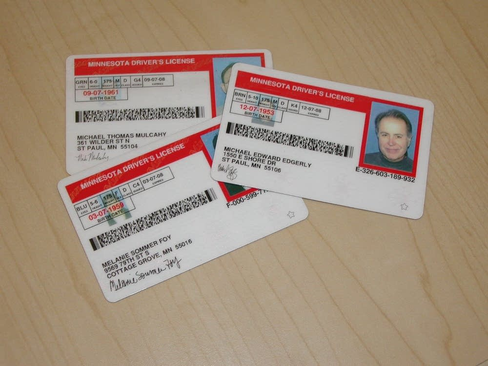 Minnesota drivers licenses